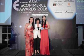 XIXILI wins Best Social Media eCommerce Campaign at Asia eCommerce Awards 2018